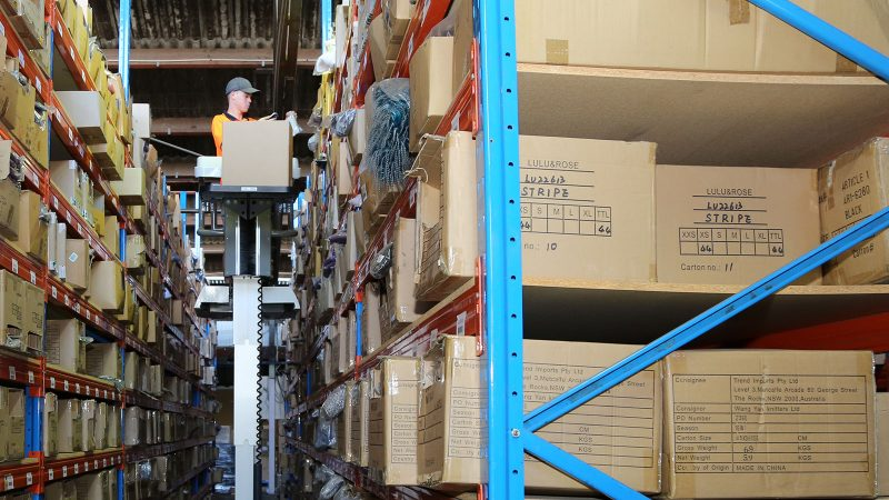 Image of our 3PL warehousing in Sydney